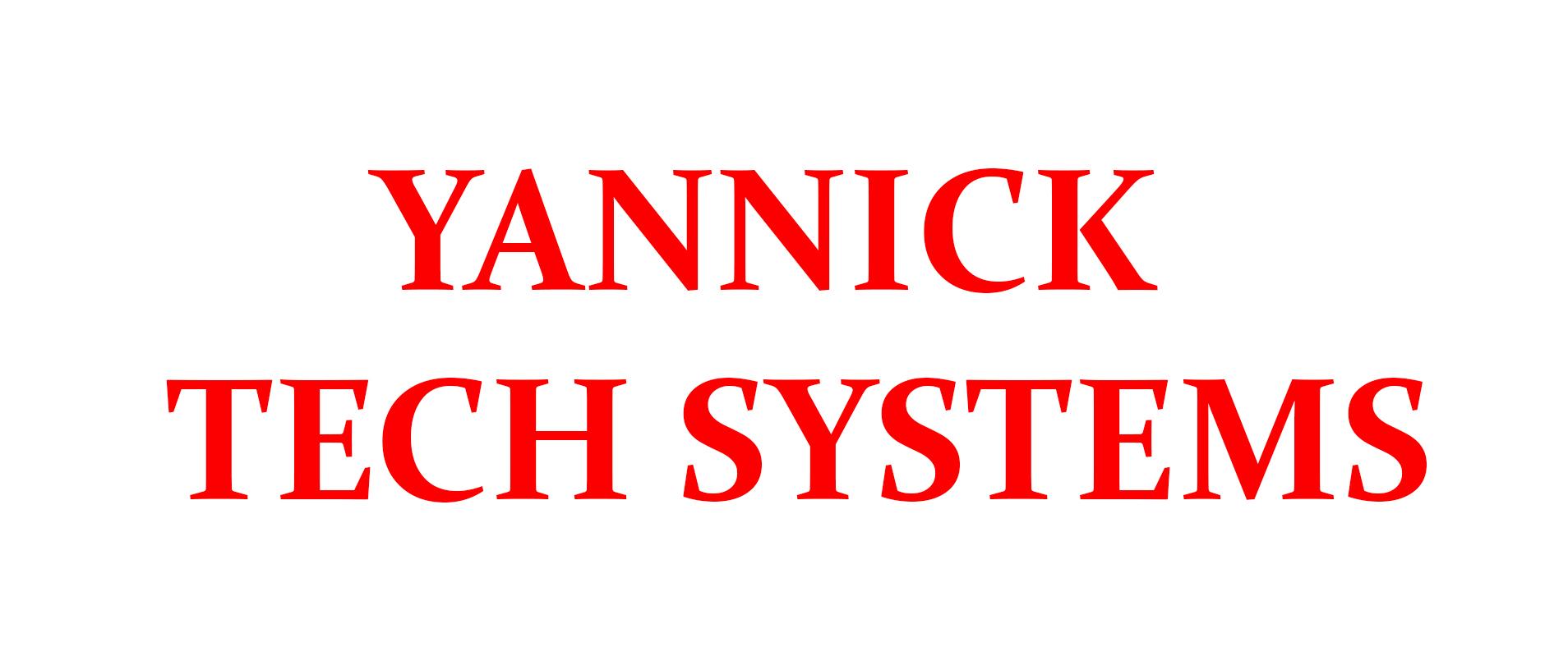 YANNICK TECH SYSTEMS 2018-19